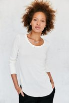 Truly Madly Deeply Camden Long-Sleeve Shirttail Tee