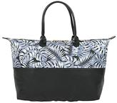 Mi-Pac Tropical Leaf Weekender Bag, Grey