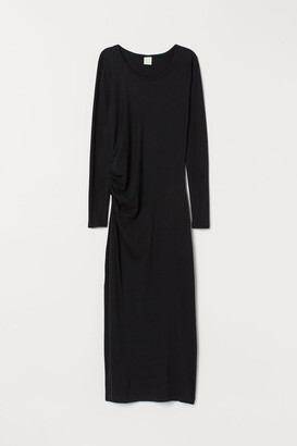 H&M Draped jersey dress