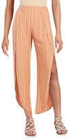 Free People Striped Split-Leg Pants