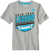 "adidas Toddler Boy Grid Iron Legend"" Football Graphic Tee"