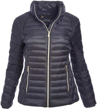 Michael Kors Women's Puffer Coats BLACK - Black Puffy Coat - Women