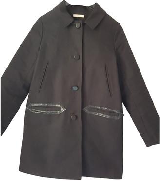 Sessun Black Cotton Coats