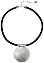 "The Sak Large Disc Pendant Necklace 16"""
