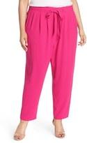 Melissa McCarthy Plus Size Women's Tie Front Pants