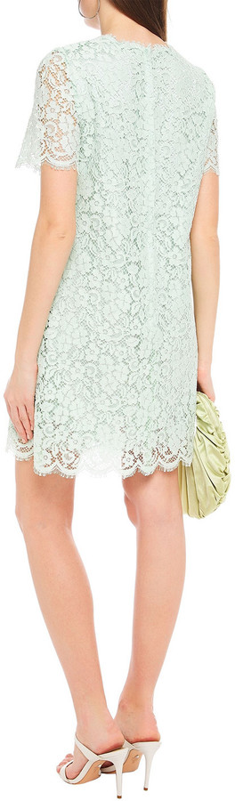 Thumbnail for your product : Dolce & Gabbana Cotton-blend Corded Lace Mini Dress