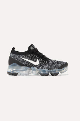 Nike Air Vapormax 3 Flyknit Sneakers - Black