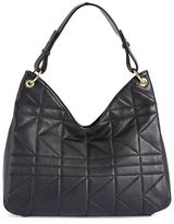 Karl Lagerfeld Paris Letitia Leather Hobo Bag