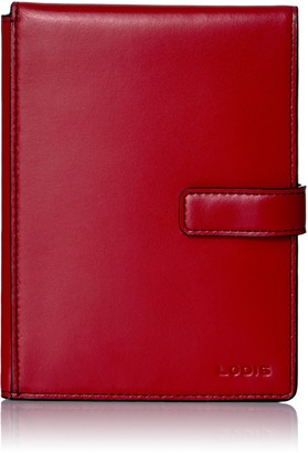 Lodis Audrey Rfid Passport Wallet W/Ticket Flap Pass Case