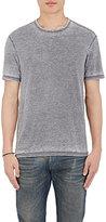 John Varvatos Men's Burnout Crewneck T-Shirt-DARK GREY