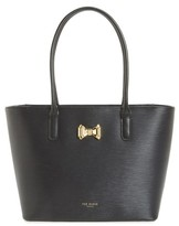 Ted Baker Small Leather Shopper - Black