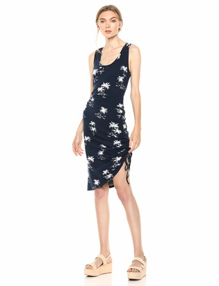 Parker Women's Freddie Sleeveless Scoop Neck Ruched Side Dress