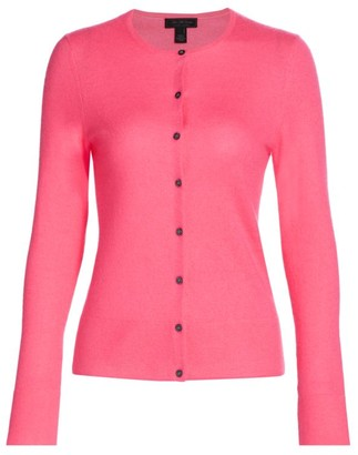 Saks Fifth Avenue Button-Front Cashmere Cardigan Sweater
