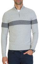 Nautica Textured Half-Zip Pullover