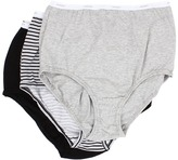 Jockey Plus Size Classics Full Cut Brief 3-Pack Women's Underwear