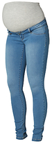 Mama Licious Mamalicious Ella Skinny Jeans, Blue