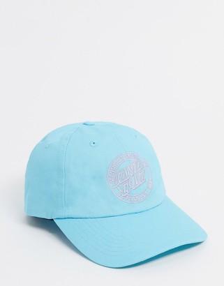 Santa Cruz MFG Dot cap in blue