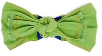 Lola Hats Pin Wheel Cotton Headband - Womens - Green