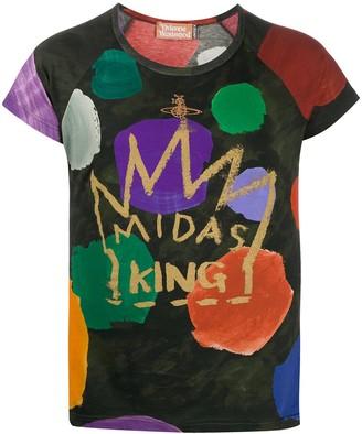 Vivienne Westwood midas king slim fit T-shirt