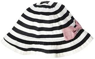 San Diego Hat Company Kids RBK3090MDBWT (Toddler/Little Kids) (Black/White Stripes) Caps