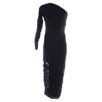 Off-White Black Synthetic Dresses