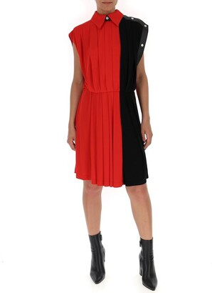 Givenchy Colour-Block Sleeveless Shirt Dress
