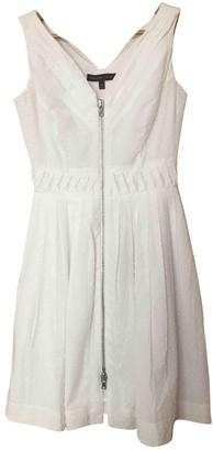 Topshop Tophop White Cotton Dress for Women