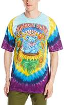 Liquid Blue Men's Grateful Dead Guru Bear T-Shirt
