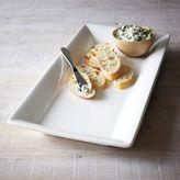 Sur La Table Italian Whiteware Rectangular Serving Platters