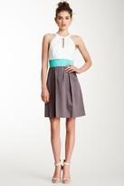Jessica Simpson Halter Neck A-Line Dress JS3A4617