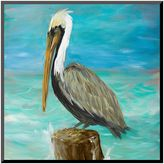Art.com ''Pelicans On Post I'' Wall Art