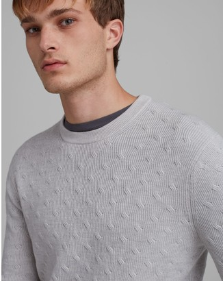Club Monaco Refined Twisted Texture Sweater