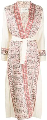 Etro Paisley Trim Coat