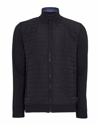 Ted Baker Ridez Long Sleeved Quilted Funnel Neck Jacket