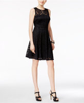 Thalia Sodi Lace Fit & Flare Dress, Created for Macy's