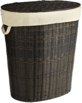 Pier 1 Imports Collin Mocha Wicker Laundry Hamper