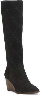 Lucky Brand Preeka Leather Tall Boot