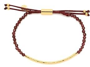 Gorjana Garnet Energy Bracelet