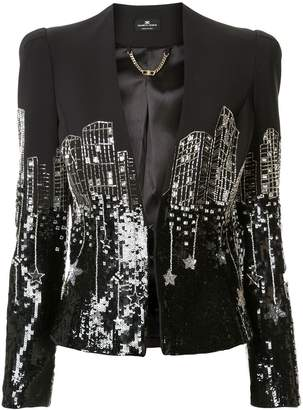 Elisabetta Franchi embroidered jacket