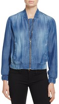 Bella Dahl Chambray Bomber Jacket - 100% Bloomingdale's Exclusive