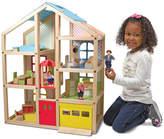 Melissa & Doug 19 Piece Hi-Rise Dollhouse Set