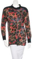 Isabel Marant Printed Long Sleeve Tunic