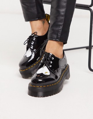 Dr. Martens x Hello Kitty chunky shoes in black