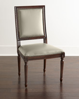 Horchow Massoud Ingram Leather Dining Chair, D9