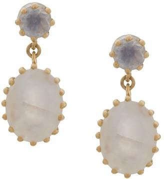 Astley Clarke Linia Rainbow drop earrings