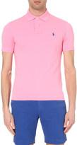 Polo Ralph Lauren Custom-fit cotton-piqué polo shirt