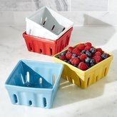 Crate & Barrel Berry Box Colanders