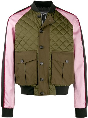 DSQUARED2 Quilted Bomber Jacket