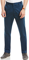 Perry Ellis Flat-Front Geo-Print Stretch Sateen Chino Pants