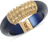 INC International Concepts M. Haskell for INC Gold-Tone Resin and Pavé Hinged Bangle Bracelet, Only at Macy's